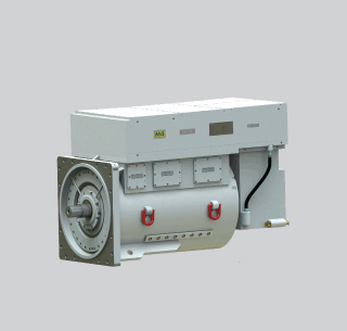 Integrated VFD Motors